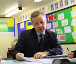 Michael Gove visits Chantry HS