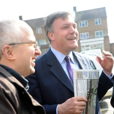 Ed Balls and David Ellesmere