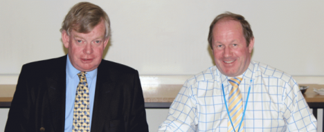 Stephen Bett (left) and Tim Passmore (right) are the Police and Crime Commissioners for Norfolk & Suffolk respectively.